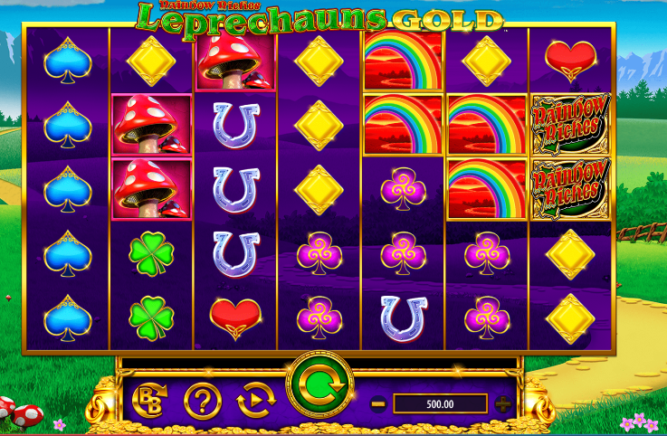 Rainbow Riches: Leprechaun's Gold demo