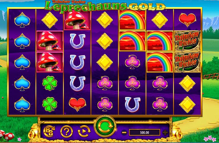 Rainbow Riches: Leprechaun's Gold demo