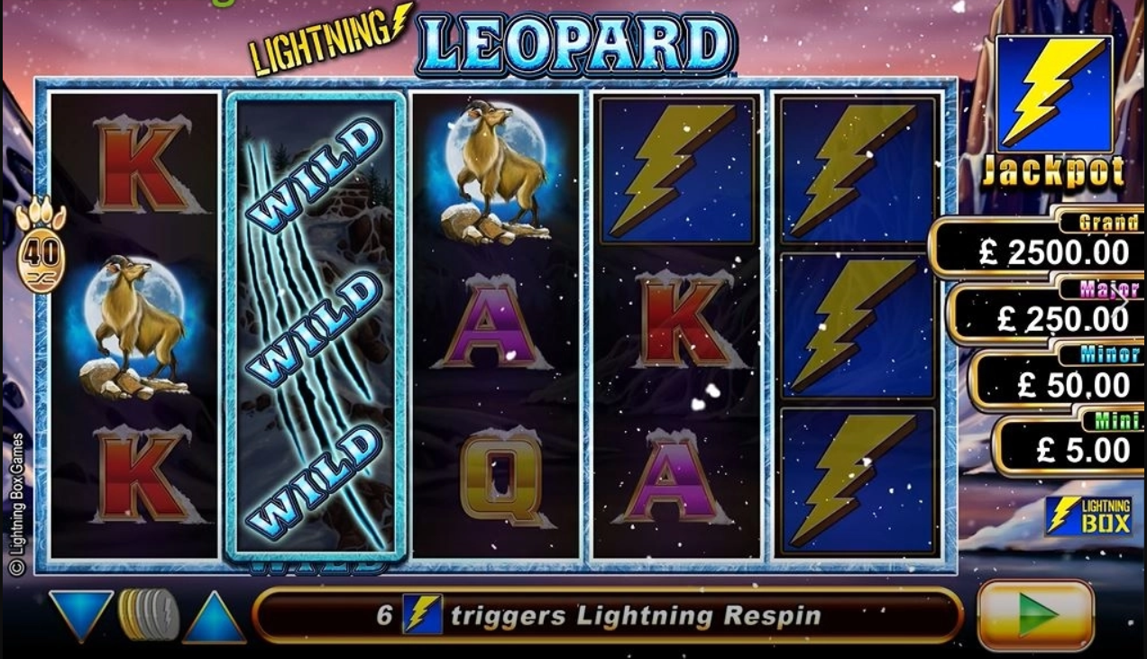 Lightning Leopard slot
