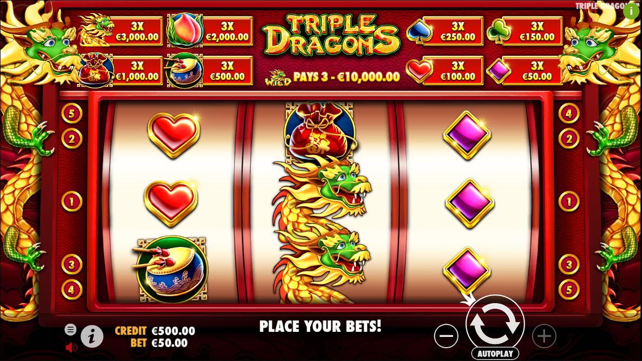 Triple Dragons Slot