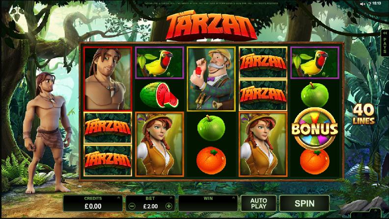Tarzan Slot demo