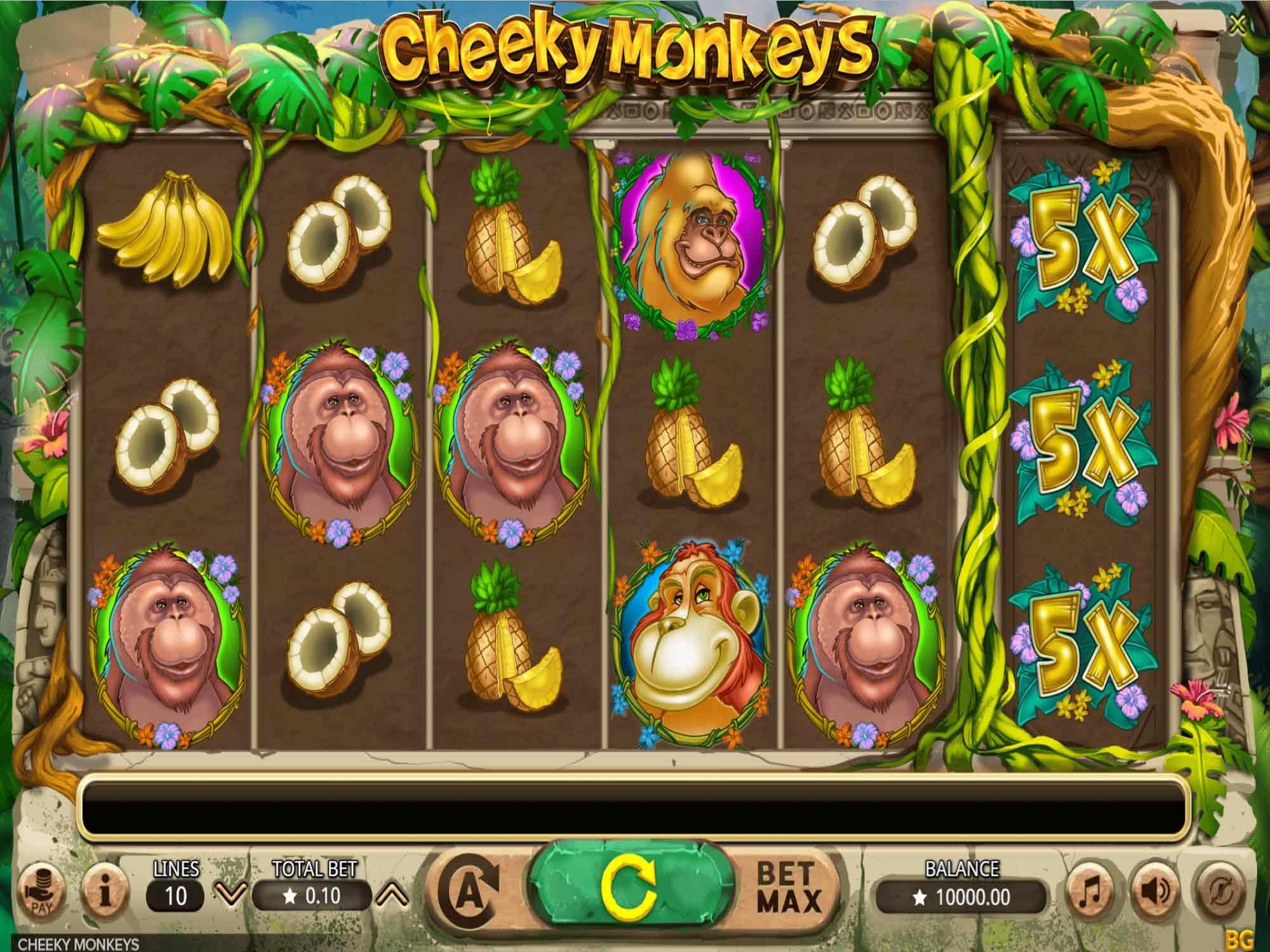 Cheeky Monkeys demo