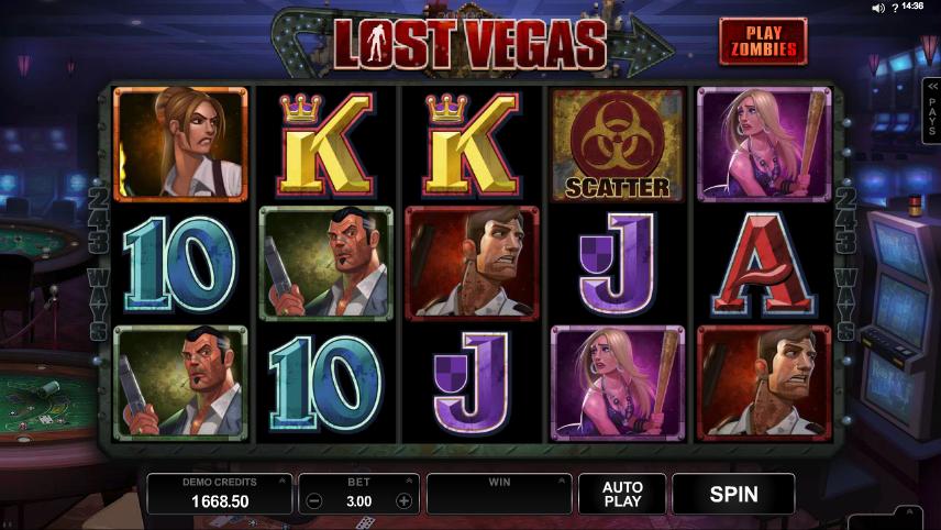 Lost Vegas demo