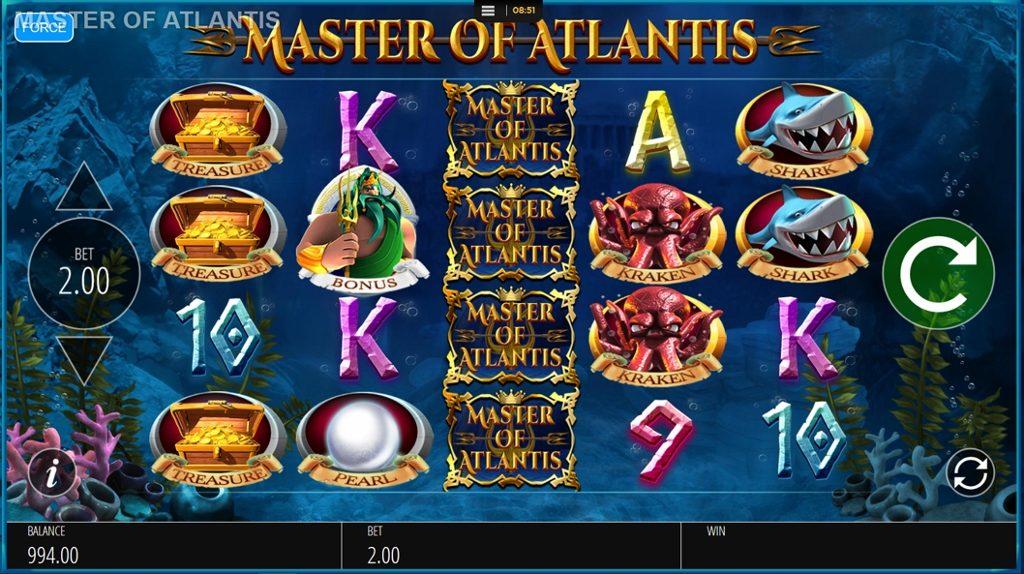 Master of Atlantis Slot