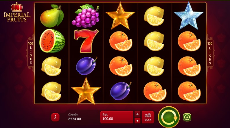 Imperial Fruits 100 Lines Slot Machine