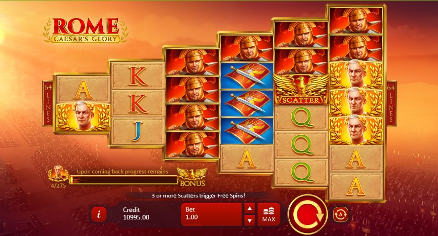 Free Slot Rome Glory