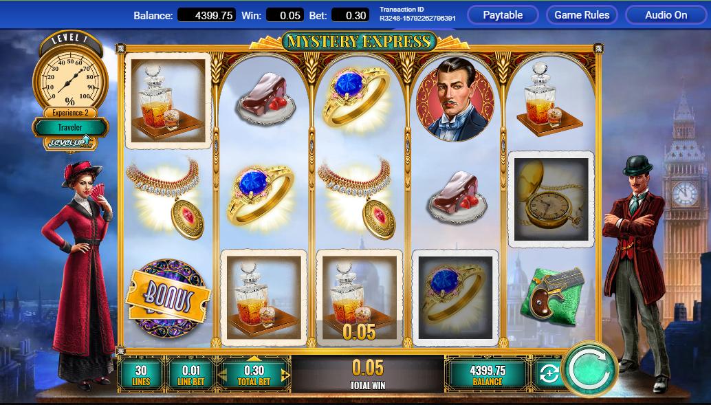 Mystery Express Slot Machine