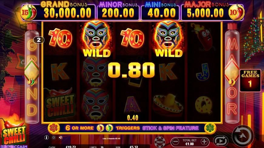 Spiele Sweet Chilli: Electric Cash - Video Slots Online