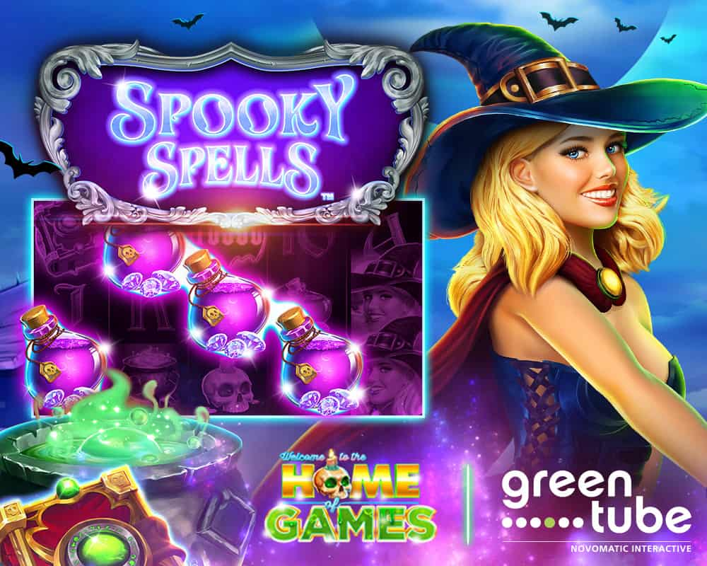 Play spooky spins online, free game