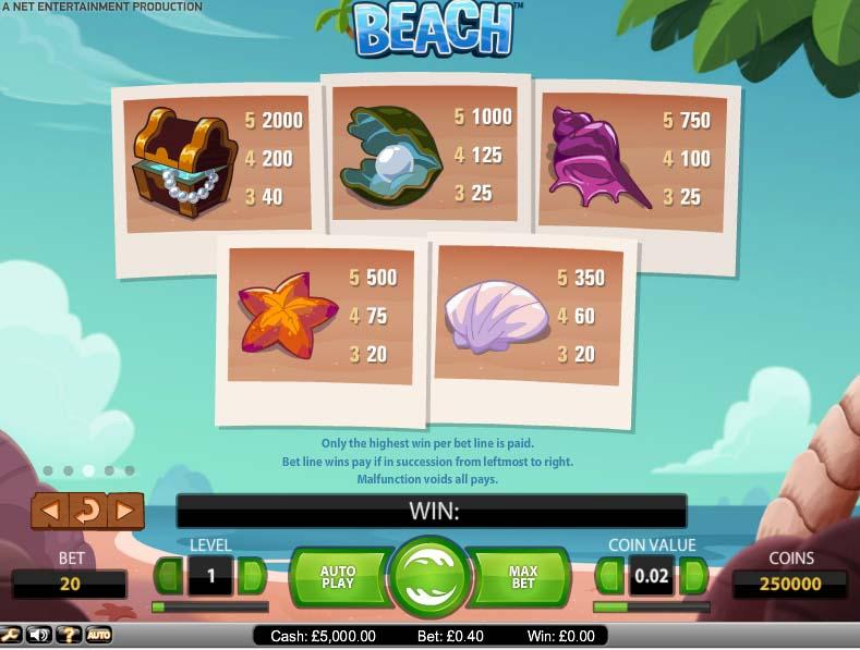 Beach free play