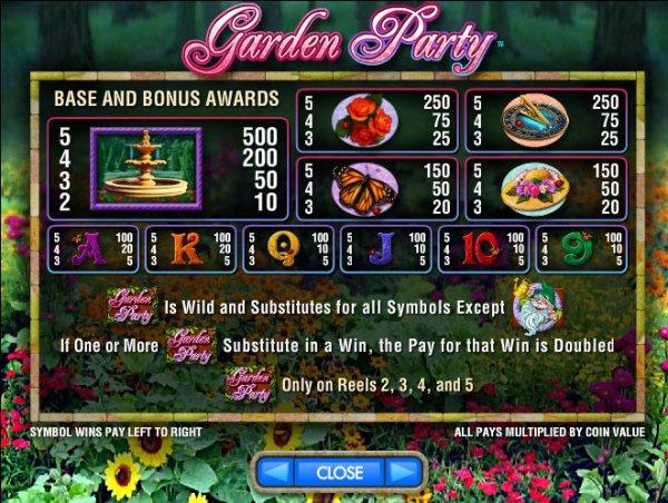 Garden Party free play