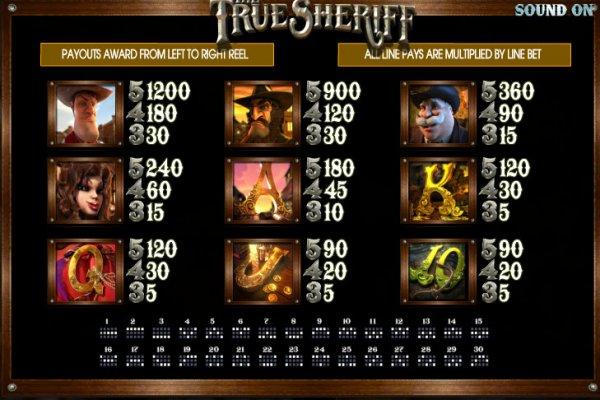 The True Sheriff free play