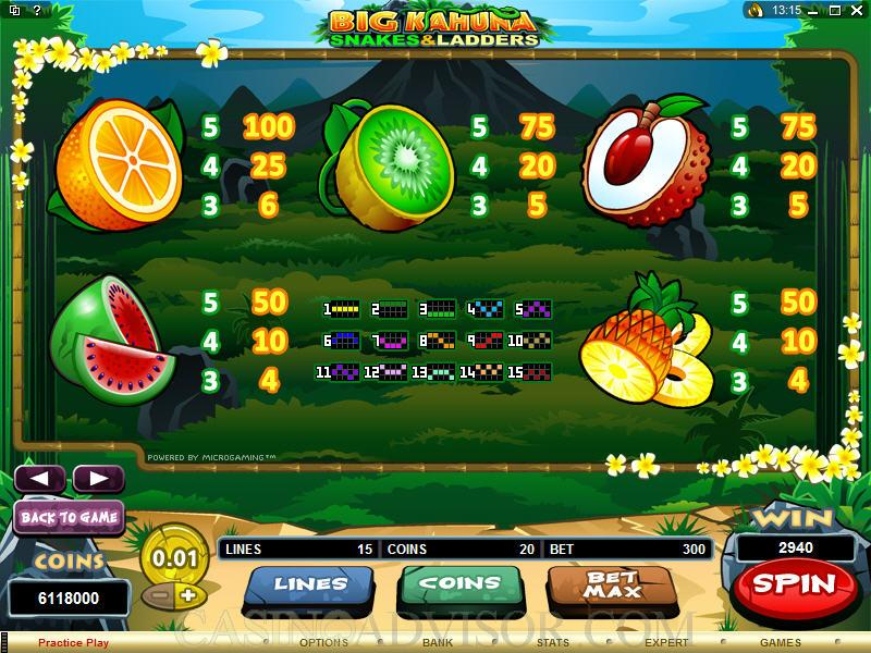 Snakes and ladders slots