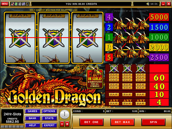 Golden Dragon free play