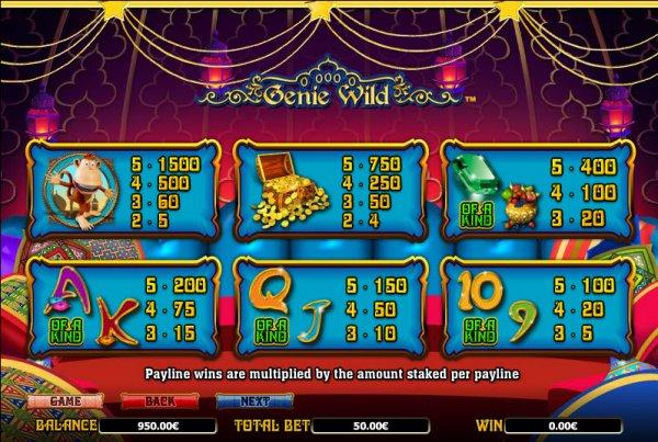 Genie Wild free play