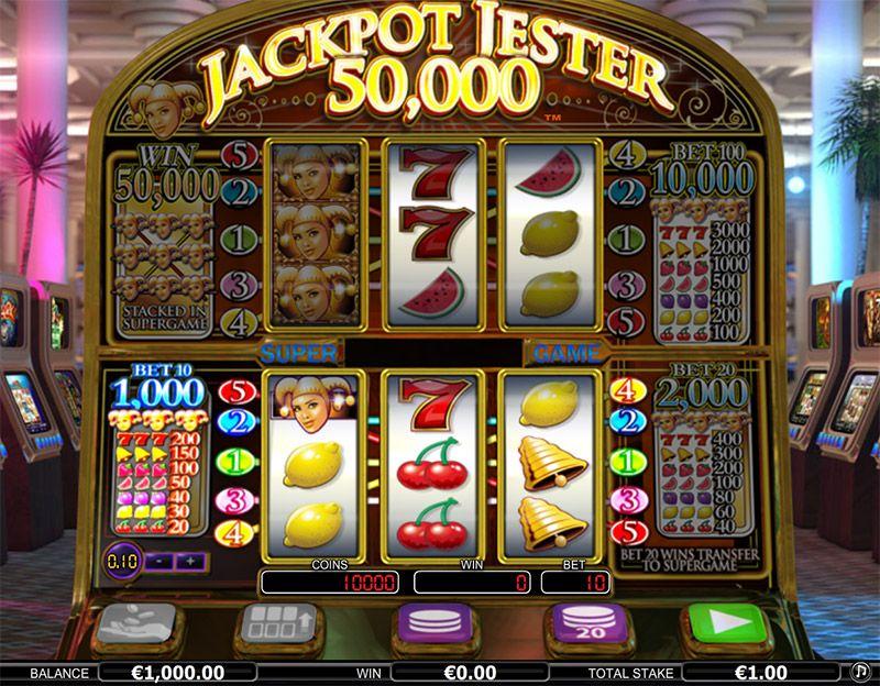 Jackpot Jester 50 000 free play