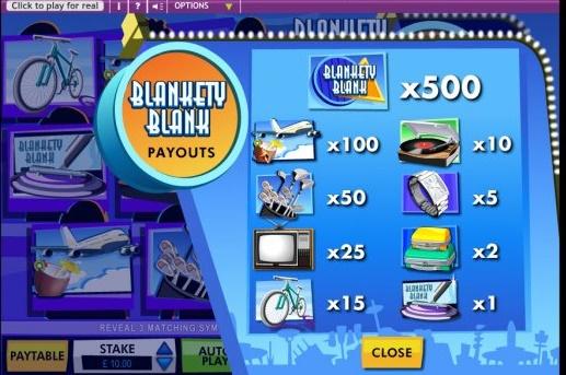 Blankety Blank free play
