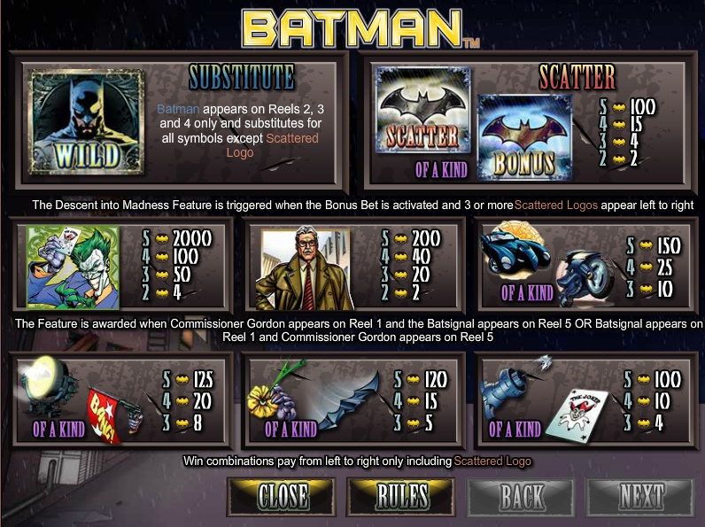 Batman free play