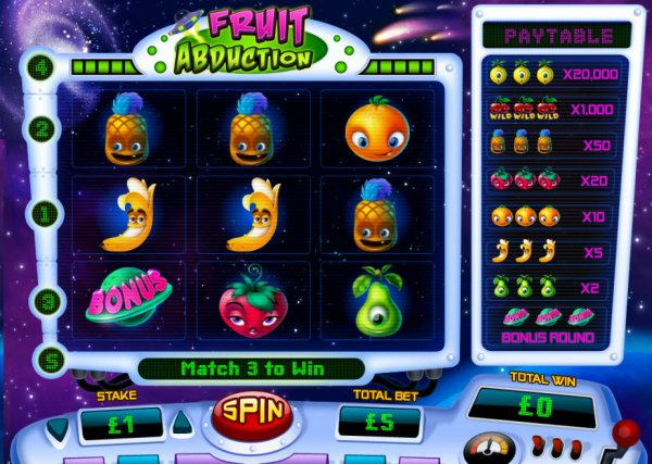 Fruit Abduction free play