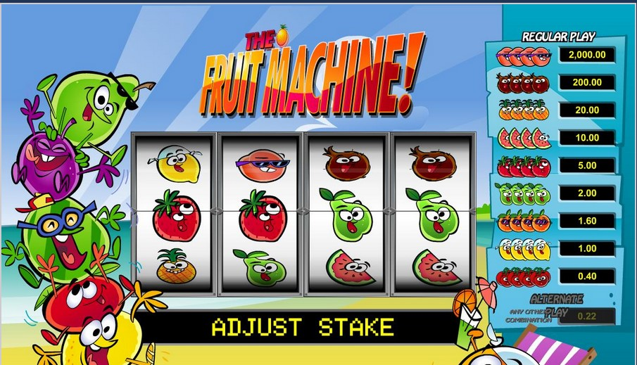 Fruit Machine free play