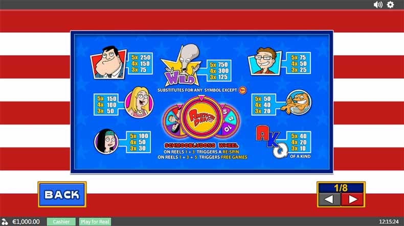 American Dad free play