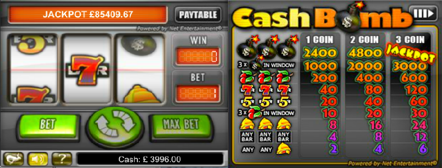 Cash Bomb  free play