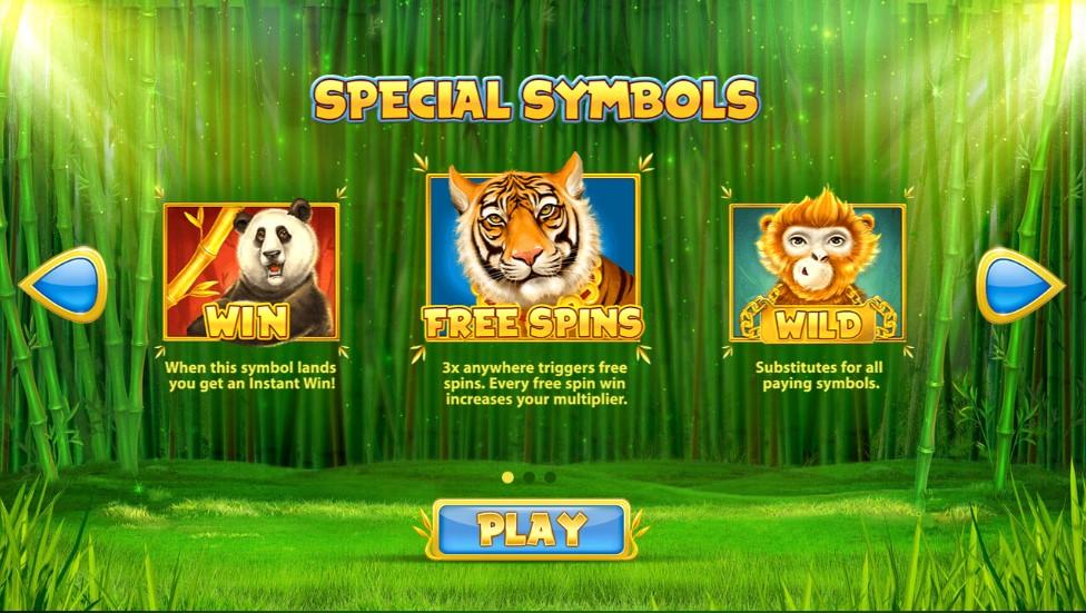 Chinese Wilds free play