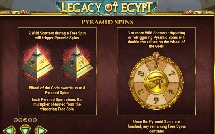 Legacy of Egypt free play