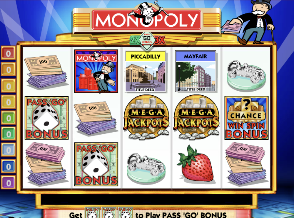MegaJackpots Monopoly free play