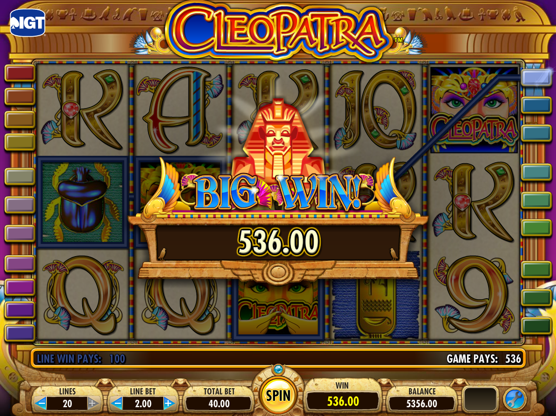 Play cleopatra slots free online