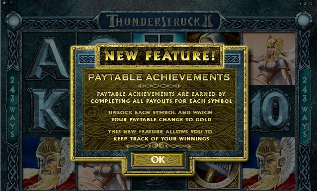 Thunderstruck II free play