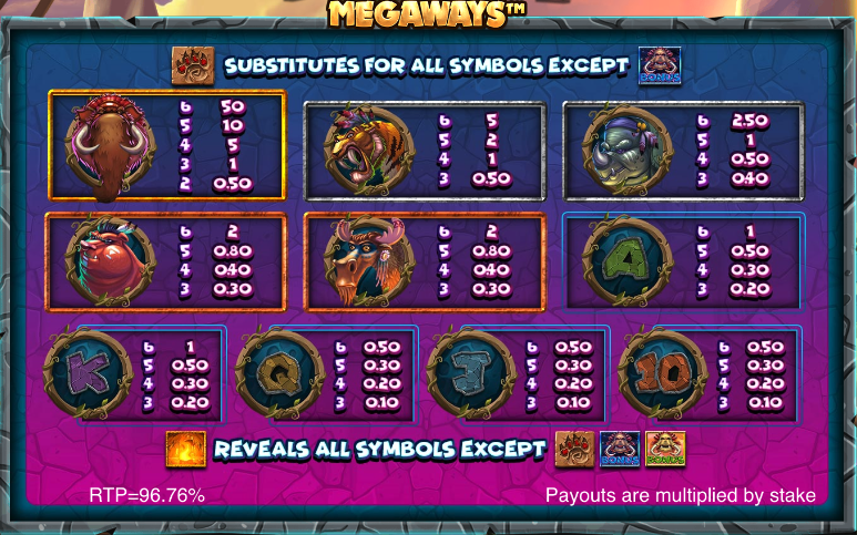 Primal Megaways free play