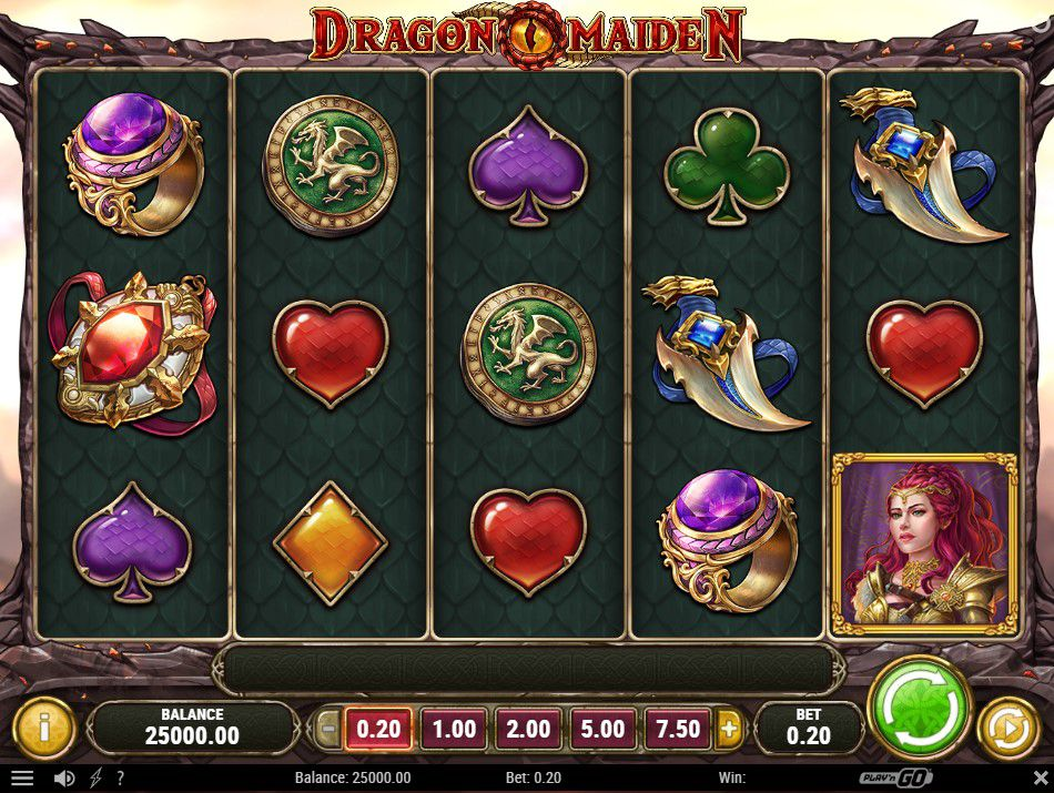 Dragon Maiden free play
