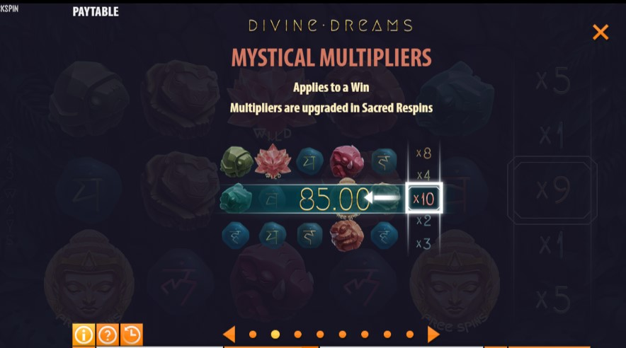 Divine Dreams free play
