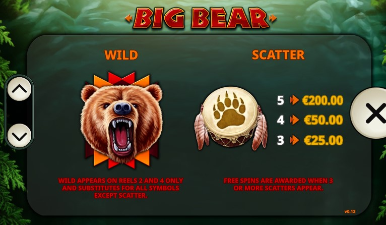 Big Bear  free play