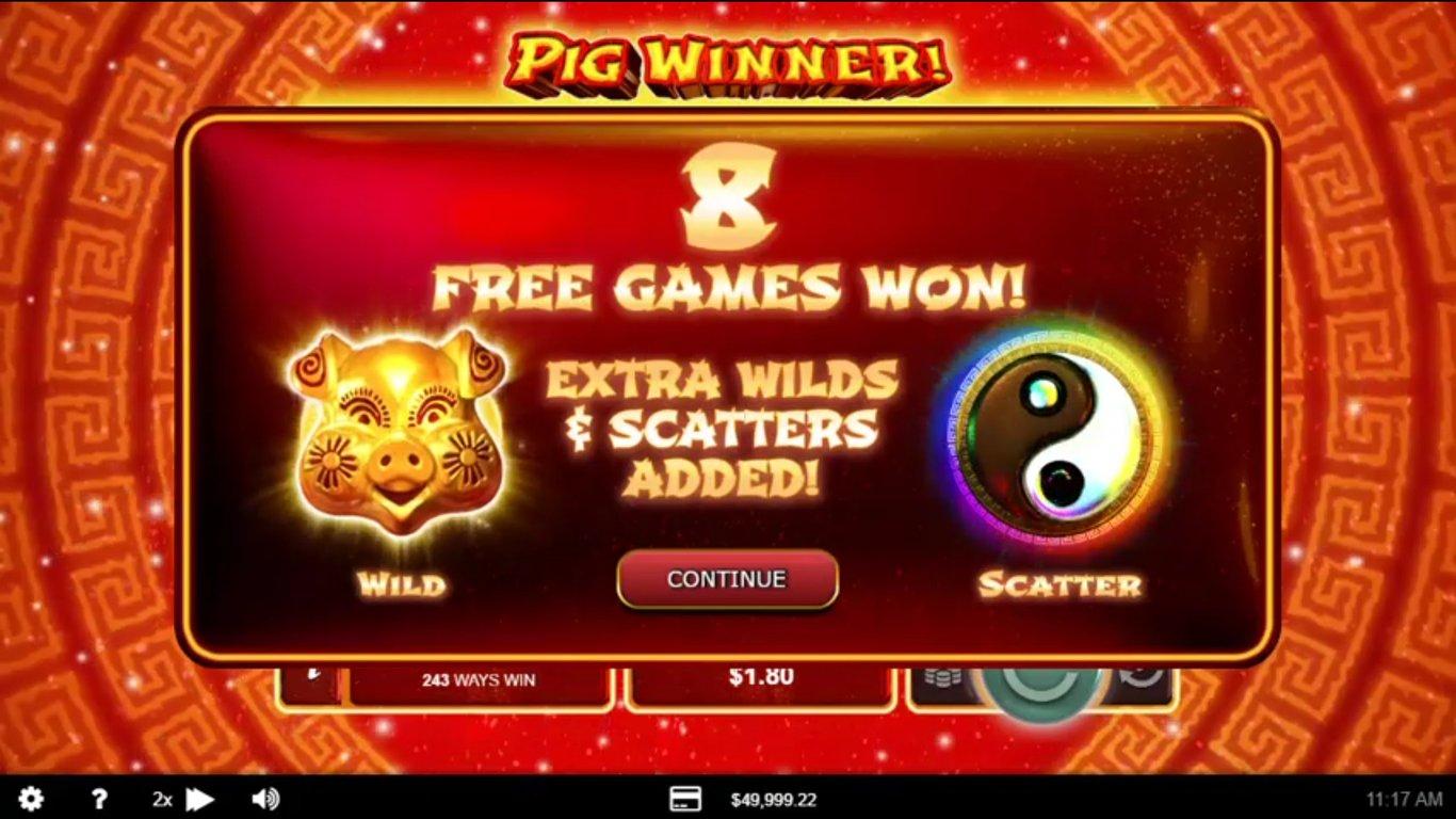 Pig Winner free play