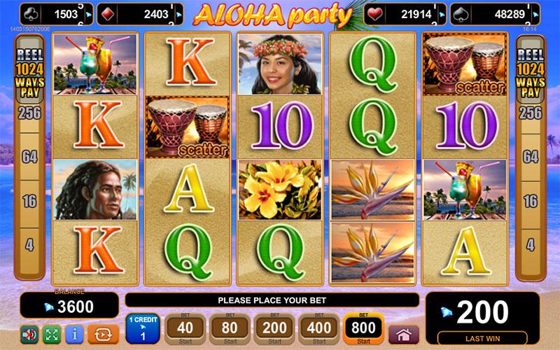 Aloha Party free play