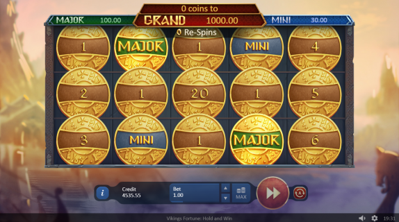Vikings of Fortune: Hold and Win free play