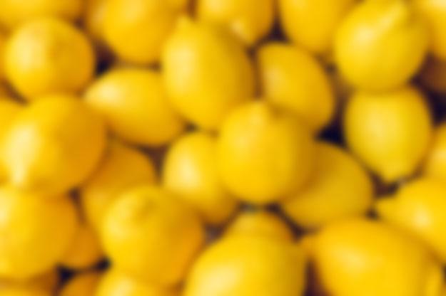 Most Lemons Caught Blindfolded
