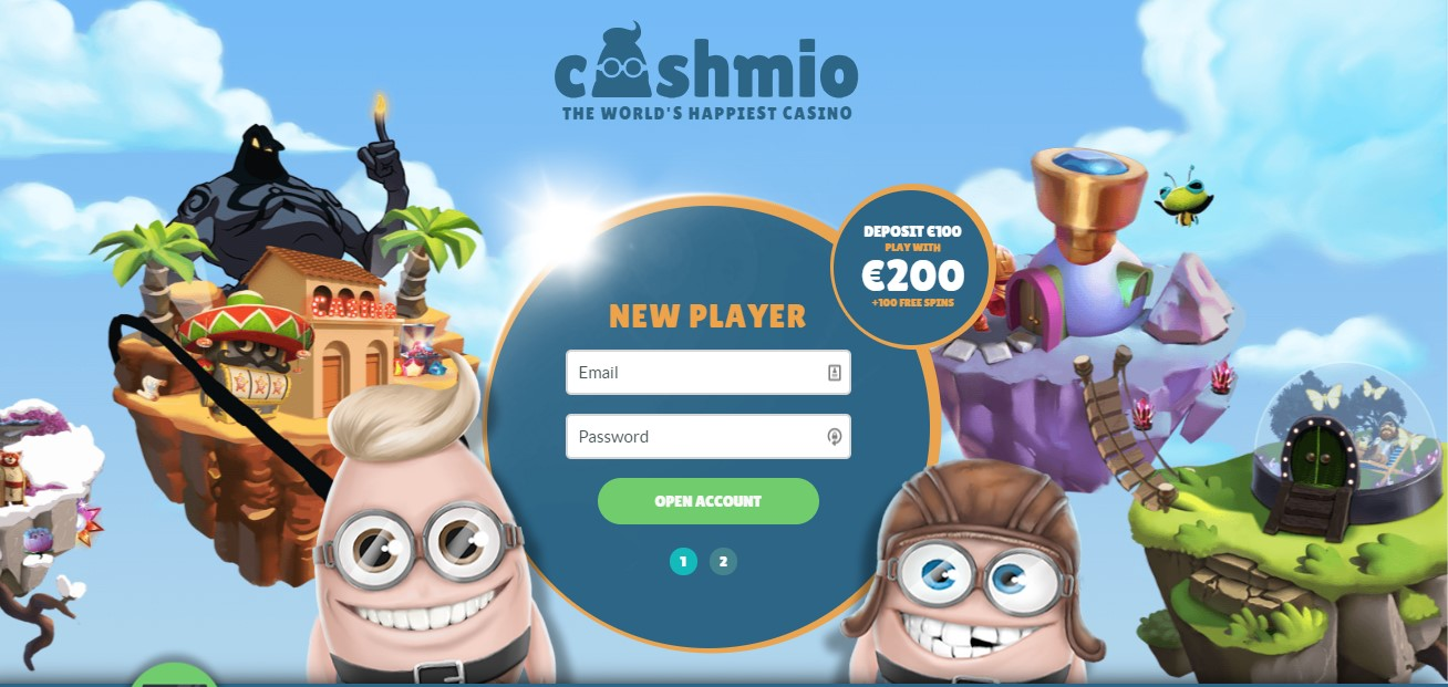 Cashmio Free Spins - Claim your Free Spins at SlotsWise