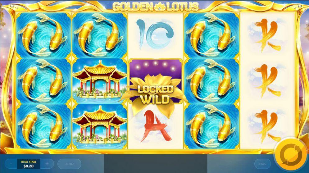 play golden lotus slot