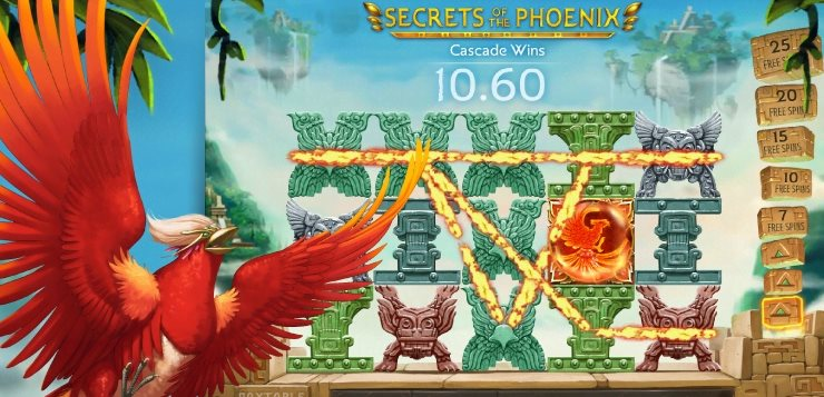 secrets of the phoenix gameplay