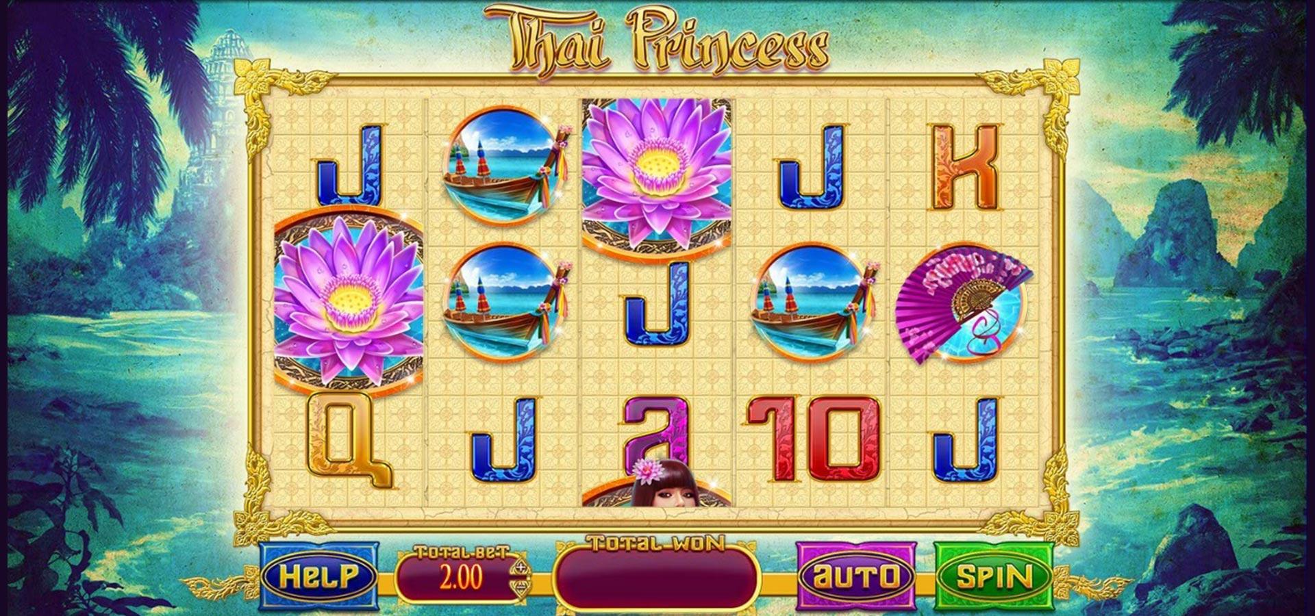 play thai princess slots