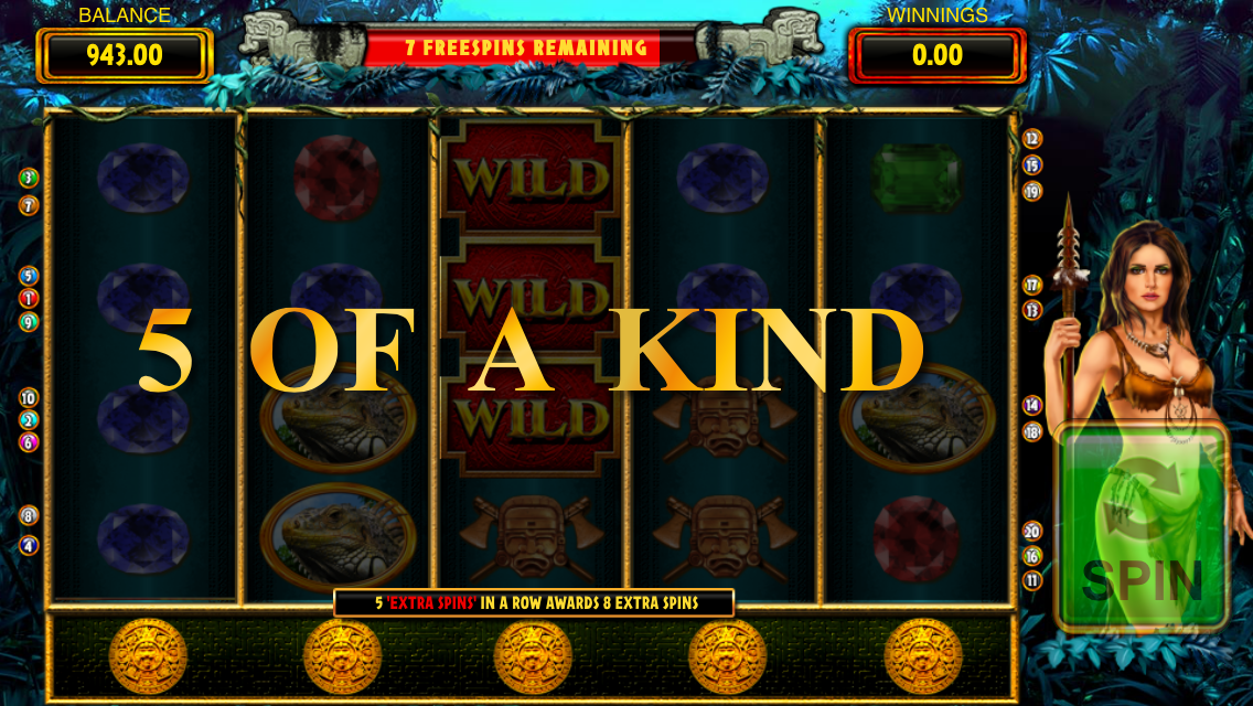 play goddess of the amazon slot