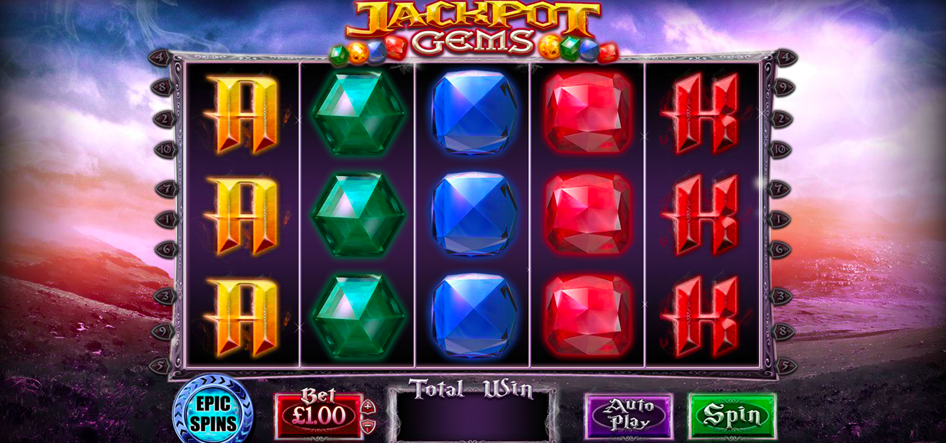 Play Jackpot Gems Slots Claim 100 Free Spins Today