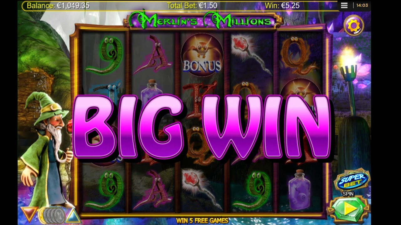 merlin's millions big win