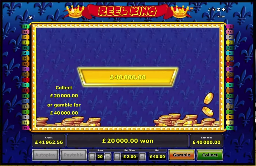 Reel King Gamble Ladder