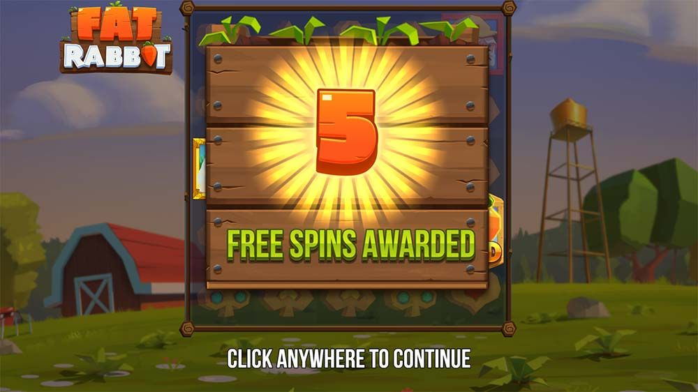 fat rabbit free spins