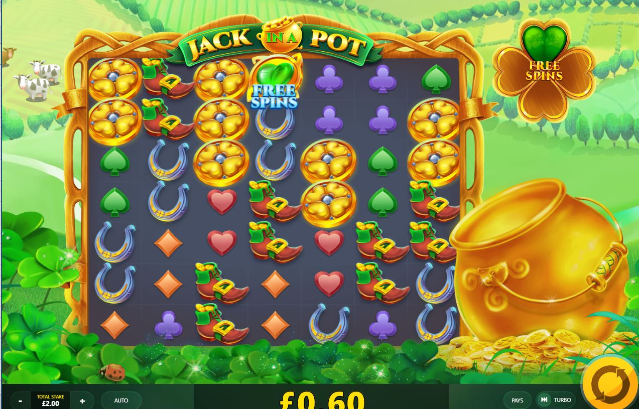Jack in a Pot free spins