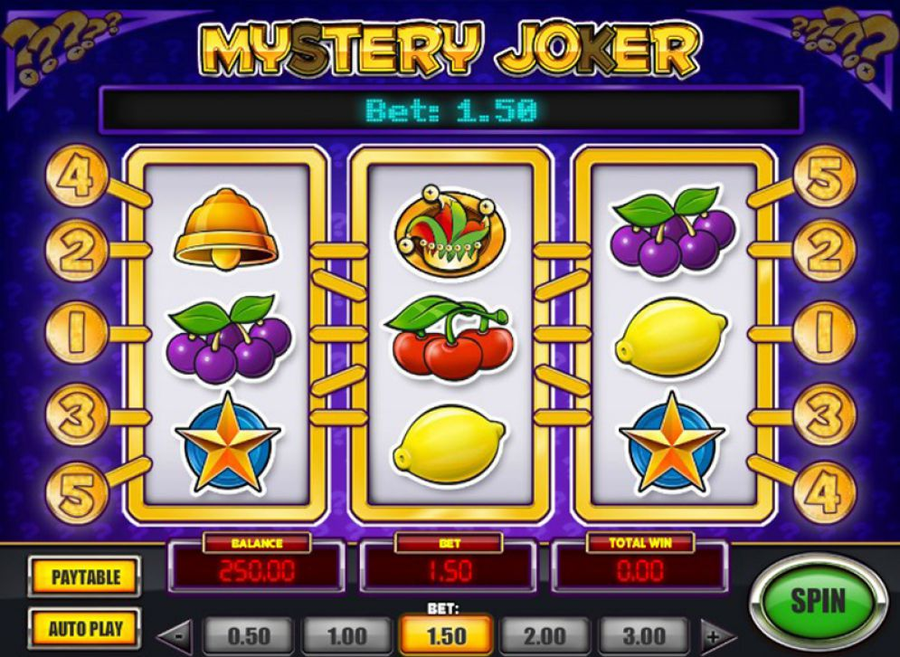 mystery joker slot gameplay